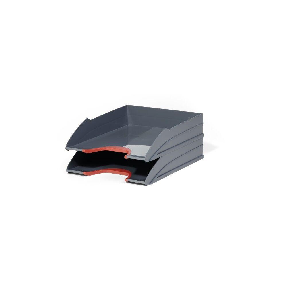 Irattálca műanyag 770203 piros 2db/szett DURABLE VARICOLOR®
