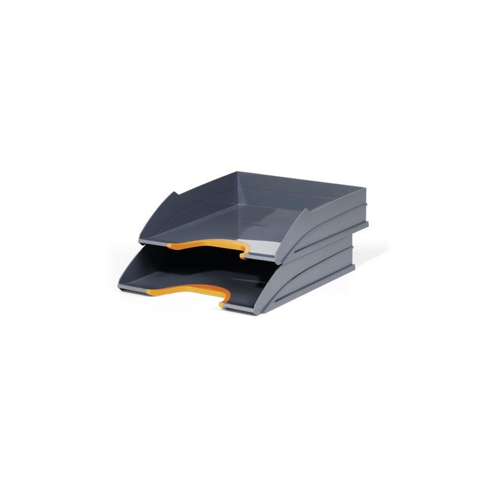 Irattálca műanyag 770209 narancssárga 2db/szett DURABLE VARICOLOR®