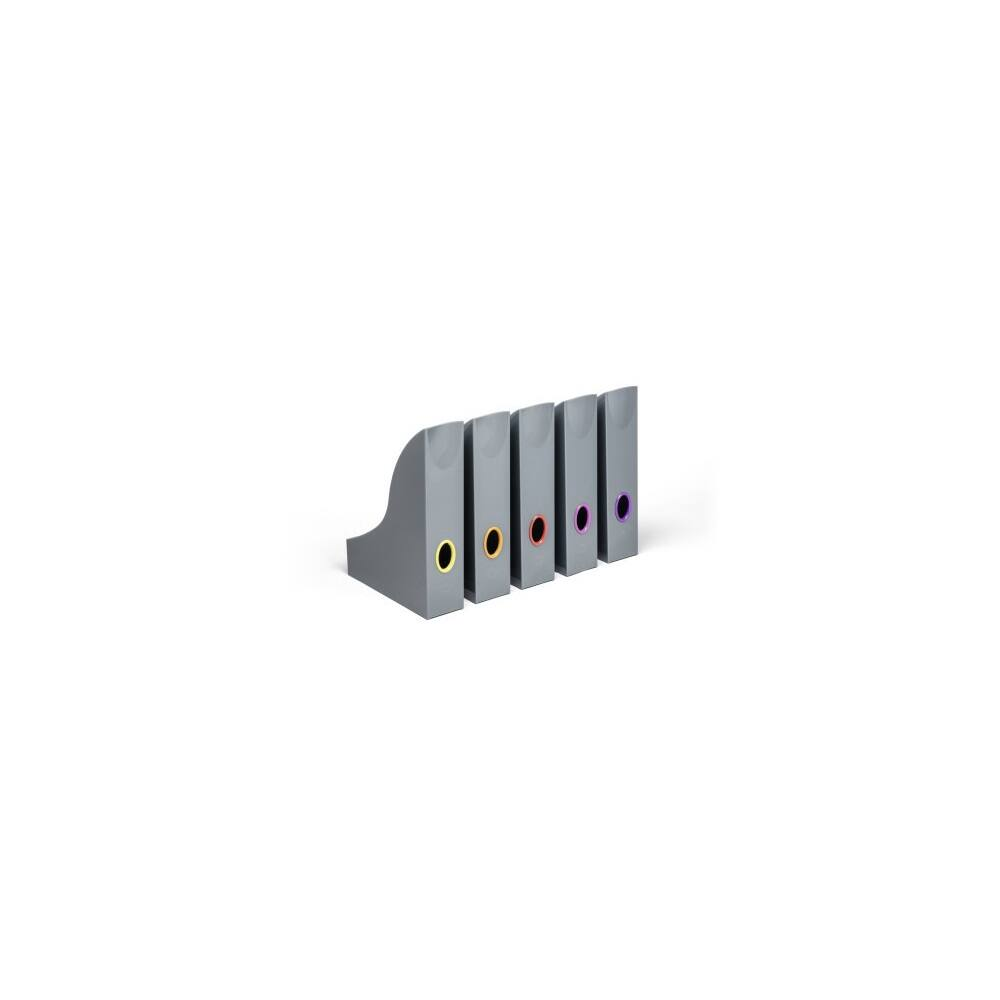 Iratpapucs szett DURABLE VARICOLOR®, 5 db / csomag, antracit