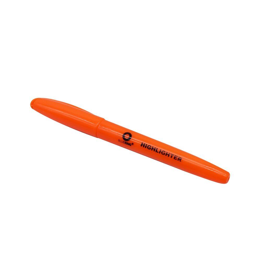 Szövegkiemelő kerek test BLUERING narancs
