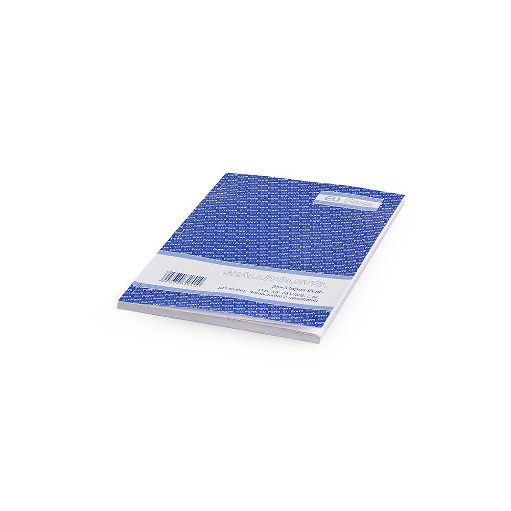 Szállítólevél A5 25x3 lapos B.10-70/A/V Navigátor