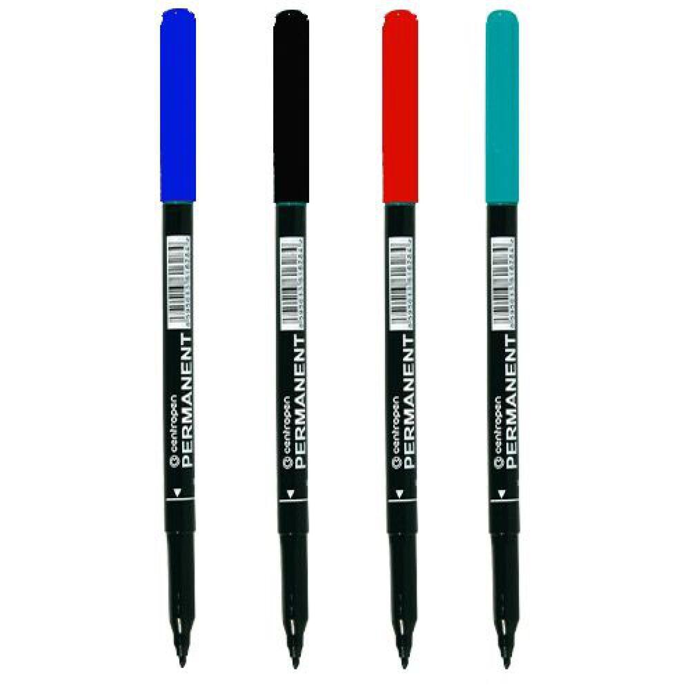 Permanent marker kerek 1 mm CENTROPEN 2536 fekete