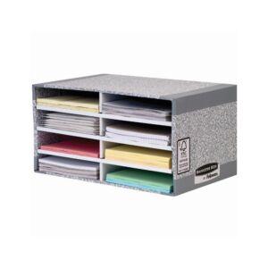 Irattároló, asztali, karton, BANKERS BOX SYSTEM by FELLOWES