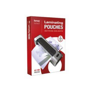 Lamináló fólia FORNAX A/3 80 micron 1/100 ( 303x426 mm)
