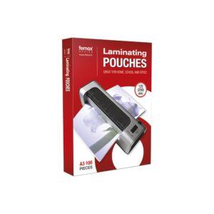 Lamináló fólia FORNAX A/3 125 micron 1/100 ( 303x426mm)