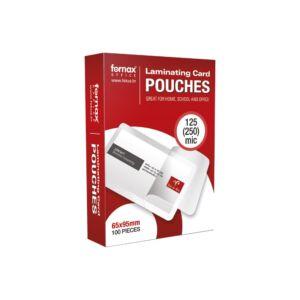 Lamináló fólia FORNAX 65x95mm TB kártya 125 micron 1/100