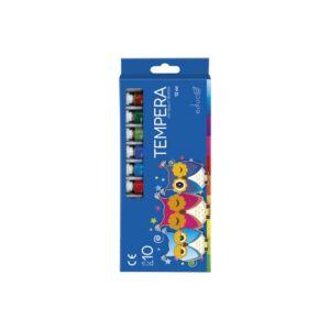 Tempera 10x12ml-es készlet EDUCA vegyes szín