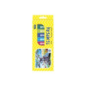 Tempera EDUCA 10 x 7,5ml-es készlet, karton dobozban