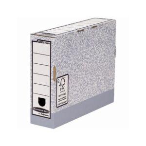 Archiváló doboz 80 mm, FELLOWES Bankers Box System 10 db/csomag,