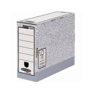 Archiváló doboz 100 mm, FELLOWES Bankers Box System 10 db/csomag,