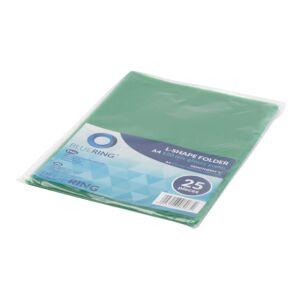 Genotherm `L` A4 80 micron zöld 25 db/csom