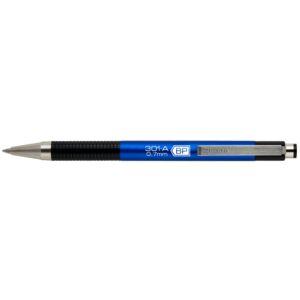 Golyóstoll 0,7mm metál kék test, ZEBRA F301A kék