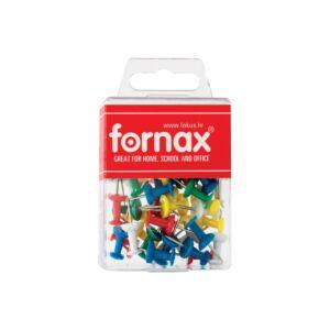 Térképtű FORNAX BC-23 színes, 50db, műanyag dobozban