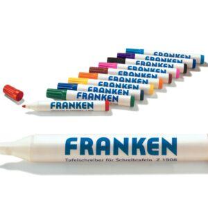 Táblamarker 2-6mm kerek, antibakteriális,10-es klt FRANKEN