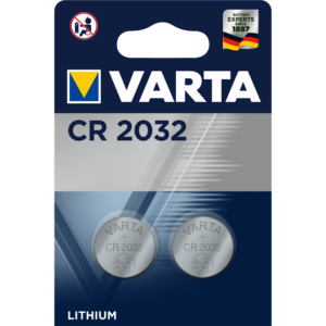 Gombelem CR 2032 2db/csomag VARTA