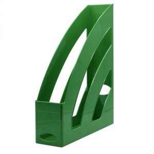 Iratpapucs műanyag 8 cm zöld 80x327x253mm