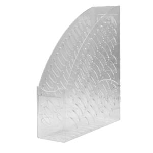 Iratpapucs műanyag 8 cm víztiszta 80x300x250mm