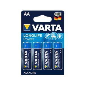 Elem AA ceruza LR06 Longlife Power 4db/csomag VARTA
