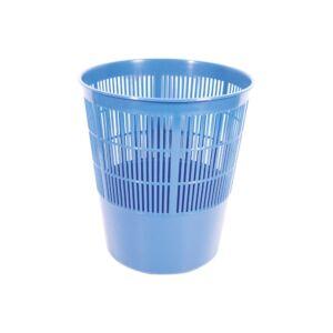 Papírkosár FORNAX műanyag rácsos, 16 literes, kék