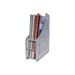 Fémhálós iratpapucs FORNAX, ezüst