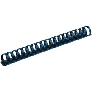 Spirál, műanyag, 14 mm, 81-100 lap, FELLOWES, 100 db/doboz, kék