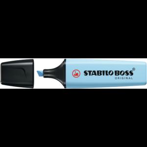 Szövegkiemelő 2-5mm vágott hegyű, STABILO BOSS 70/31 kék