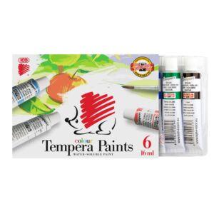 Tempera színes 6x16ml Süni ICO 6 klf. szín