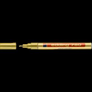 Lakkmarker 0,8mm kerek EDDING 780 arany