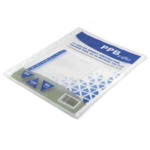 Genotherm lefűzhető, A4 40 micron narancsos PPB EXTRA 100 db/csomag