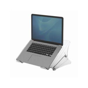 Laptopállvány, FELLOWES Clarity, átlátszó