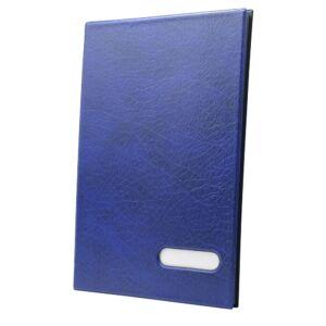 Aláírókönyv 14 lapos kék