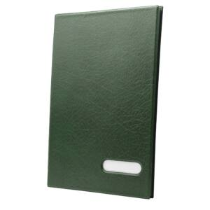 Aláírókönyv 14 lapos zöld