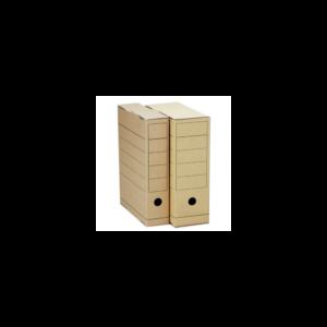 Archiváló boxy 150mm barna