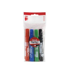 Flipchart marker vízbázisú 1-4mm vágott ARTIP 12XXL 4 klf.szín