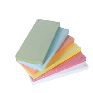Elválasztócsík karton 190gr. 10,5x24 cm sárga 100 db