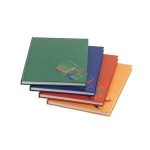 Beírókönyv A5 kockás 96lapos keményfedeles egyszínű EDUCA