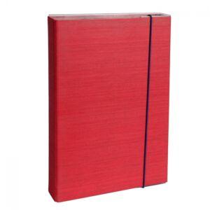 Füzetbox A4 bordó BLUERING