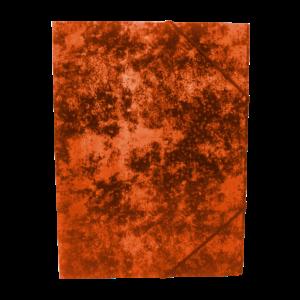 Gumis mappa A4 festett prespán karton BLUERING piros