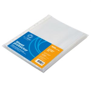 Genotherm lefűzhető, A4 50 micron fényes víztiszta BLUERING 100 db/csomag