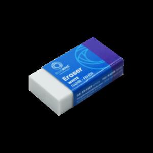 Radír 30-as fehér szögletes papír tokban BLUERING