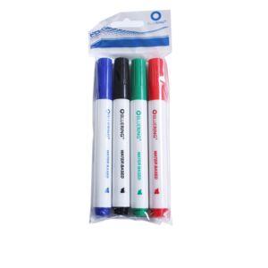Flipchart marker rostirón vizes vágott végű 1-4mm 4-es készlet BLUERING