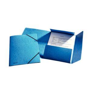Gumis mappa karton prespán A4, 15 mm ESSELTE Rainbow kék