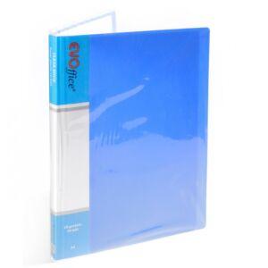 Iratvédő mappa 20tasakos kék EV4D20