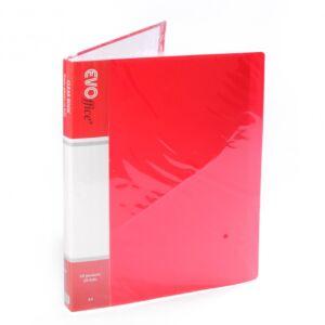 Iratvédő mappa 20tasakos piros EV4D20