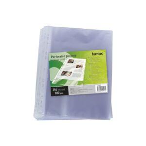 Genotherm lefűzhető, A4 40 micron narancsos FORNAX 100db/csom