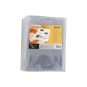Genotherm lefűzhető FORNAX XL( 220x300mm) A/4 víztiszta 90 mikron 50db/csomag