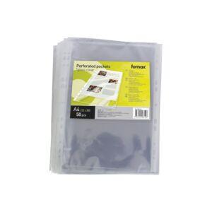 Genotherm lefűzhető FORNAX XL( 223x300mm) A/4 víztiszta 130 mikron 50db/csom