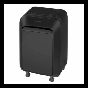Iratmegsemmisítő, mikrokonfetti vágás 2 x 12mm, 14 lap FELLOWES Powershred LX211 , fekete