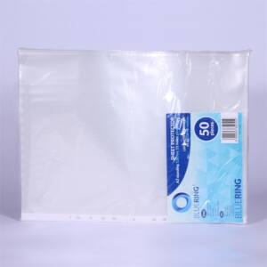 Genotherm lefűzhető, A3 fekvő 120 micron víztiszta BLUERING 50 db/csomag