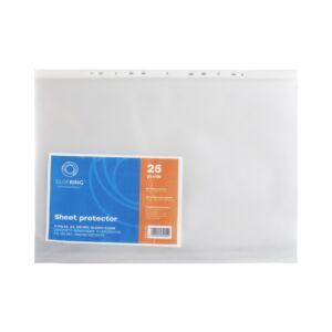 Genotherm lefűzhető, A3 álló 120 micron víztiszta BLUERING 50 db/csomag
